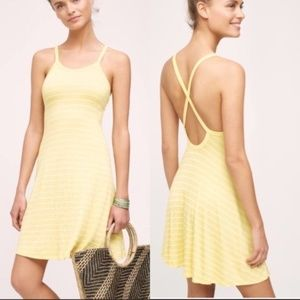 Anthropologie Saturday Sunday Crossback Day Dress